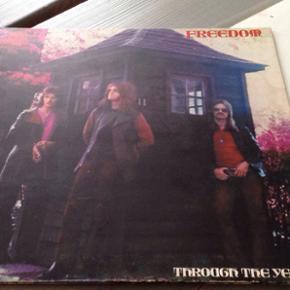 """Freedom """"through the years"""" UK. Vertigo  - Odense - Freedom """"through the years"""" UK. Vertigo VO 6360 049 Cover: VG+ LP: VG Sjælden LP på det legendariske Vertigo """"swirl"""" label - Odense"""
