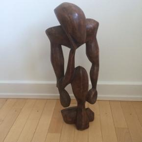 Flot træfigur fra Afrika den er 60 cm h - København - Flot træfigur fra Afrika den er 60 cm høj - København