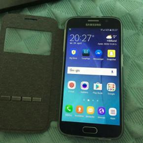 Samsung galaxy s6 32 gb...nyt batteri og - Herning - Samsung galaxy s6 32 gb...nyt batteri og ny bagglas....byd - Herning