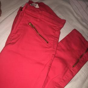 Børnetøj: røde jeans fra h&m str. 13- - København - Børnetøj: røde jeans fra h&m str. 13-14/158 - København