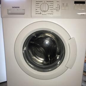 Siemens vaskemaskine. Virker fint, men k - Aalborg  - Siemens vaskemaskine. Virker fint, men kunne godt bruge en rengøring af sæbeskuffe mv. Skal afhentes. Transportbeslag haves ikke. - Aalborg