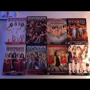 Alle sæsoner af Desperat housewives - s - Aalborg  - Alle sæsoner af Desperat housewives - sælges samlet. Kun set igennem én gang. - Aalborg