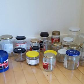 Forskellige størrelse opbevaringsglas t - Aalborg  - Forskellige størrelse opbevaringsglas til marmelade og andet godt
