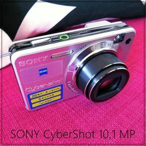 SOLGT!!! Sony Cyber-shot DSC-W170 Velhol - København - SOLGT!!! Sony Cyber-shot DSC-W170 Velholdt, fungere perfekt og tager super go'e billeder, med Engelsk opsætning i indstillinger. 10,1 megapixel 5 x optisk zoom + 2 x digital zoom Indbygget flash Autofokus Makro Medfølger: Oplader NP-BG1 opl - København