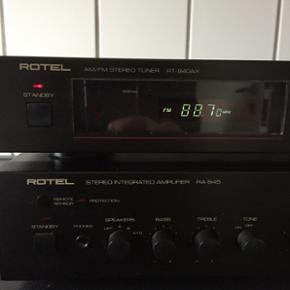 Rotel forstærker og radio. Pæn stand.  - Kolding - Rotel forstærker og radio. Pæn stand. Ikke brugt ret meget. - Kolding