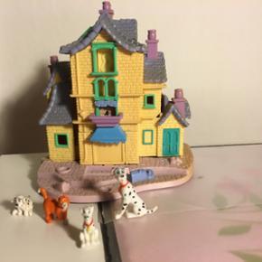 Polly Disney blandet. Aristocats hus og  - København - Polly Disney blandet. Aristocats hus og thomas o Mali, 3 dalmatinere og et pochahontas hytte. - København