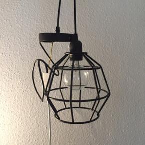 Pendel trådlampe fra søstrene grene ti - Aalborg  - Pendel trådlampe fra søstrene grene til loftophæng i perfekt stand. Kan justeres. Pære følger ikke med. - Aalborg