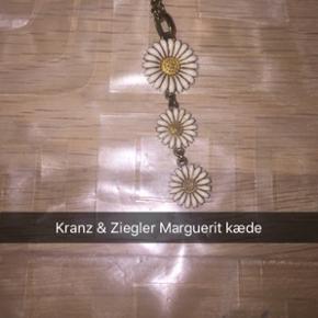 Marguerit kæde fra Kranz & Ziegler i hv - Aalborg  - Marguerit kæde fra Kranz & Ziegler i hvid/forgyldt - Aalborg