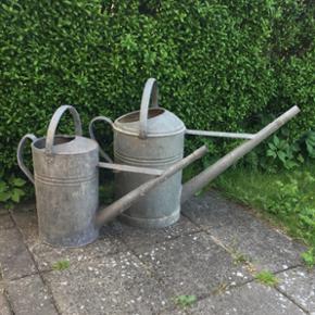 Zink vandkander samlet 800kr 350kr for d - København - Zink vandkander samlet 800kr 350kr for den lille 450kr for den store - København