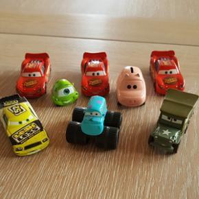 Cars - 8 stk, sælges samlet og sendes i - Aalborg  - Cars - 8 stk, sælges samlet og sendes ikke. Fast pris! - Aalborg