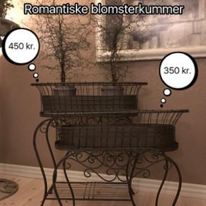 Romantiske blomsterkummer. Priserne frem - København - Romantiske blomsterkummer. Priserne fremgår af billederne. - København