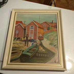 Maleri måler ca 4050 - Aalborg  - Maleri måler ca 4050 - Aalborg
