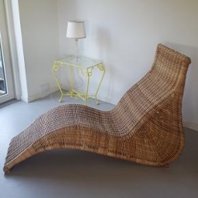 Loungestol i bambus. - Køge - Loungestol i bambus. - Køge