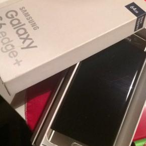 Samsung Galaxy s6 edge + Sælger den for - Maribo - Samsung Galaxy s6 edge + Sælger den for min bror, den fejler intet ud over lomme ridser foran og 3 revner bag i, den skal gendannes da vi ik kan løse den op, så BYD hvis du intra og kan låse den op☺️ - Maribo