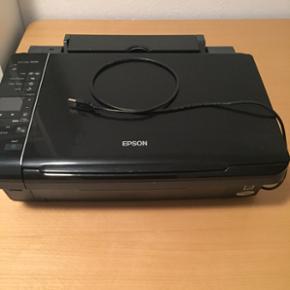 Printer og scanner i ét. Fungere optima - Hillerød - Printer og scanner i ét. Fungere optimalt men mangler blækpatroner. - Hillerød
