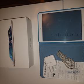 Ipad mini 16gb wifi med kvottering og ka - Randers - Ipad mini 16gb wifi med kvottering og kasse lader cover.skal have ny knap kan sagtens bruges sådan uden og få det da man kan få en knap frem på skærmen i stedet for. Mp 1300 - Randers