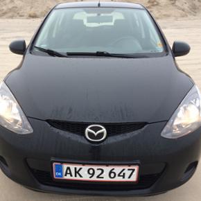 Mazda 2, 1,4 diesel 2009 ny synet - Aalborg  - Mazda 2, 1,4 diesel 2009 ny synet - Aalborg