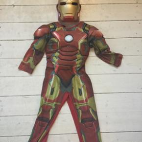 Iron man kostume 4/5 år - København - Iron man kostume 4/5 år - København