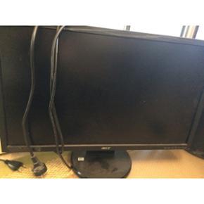 Computer skærme sælges Den ene er fra  - Århus - Computer skærme sælges Den ene er fra Acer og den anden er fra Asus Stk. Pris er mellem 100-200kr Spørg for mere information - Århus