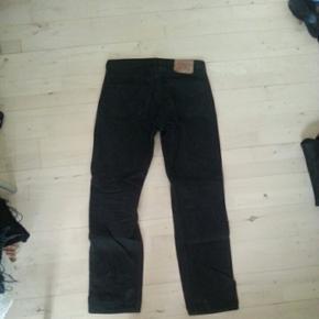 Levis jeans model 501 i sort, str. 33/32 - København - Levis jeans model 501 i sort, str. 33/32 - København