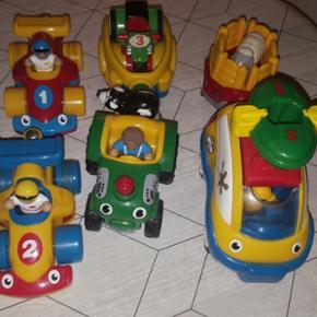 Wow biler der kører frem når de trækk - Herning - Wow biler der kører frem når de trækkes tilbage. Rigtig pæne og gode biler. - Herning