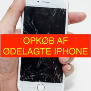 Har du en ødelagt iPhone du gerne vil s - København - Har du en ødelagt iPhone du gerne vil sælge? Så kan du nu komme af med den, uanset hvor ødelagt den er. Dog er den mest værd hvis den tænder. Skriv model, defekter og tilbehør(kvittering, emballage og oplader) og få et bud på din ød - København