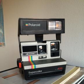 Velfungerende polaroid-kamera Filtre med - København - Velfungerende polaroid-kamera Filtre medfølger ikke, men kan købes i diverse fotobutikker - København