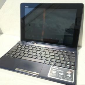 """Asus Transformer Pad tf300t 10"""" tablet o - Svendborg - Asus Transformer Pad tf300t 10"""" tablet og tilhørende tastatur med ekstra batteri, der kan anvendes som bærbar. Specifikationer: - Model fra 2014 - 27 GB intern hukommelse - Indgang til SD og mikro SD (ekstern hukommelse) - USB indgang - Mikr - Svendborg"""