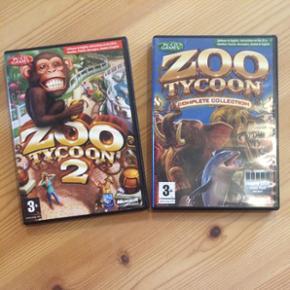 ZOO TYCOON 1 og 2 sælges. BYD! - Ribe - ZOO TYCOON 1 og 2 sælges. BYD! - Ribe