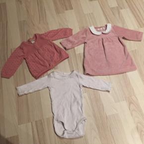 Cardigan, body og kjole fra Name It str  - Esbjerg - Cardigan, body og kjole fra Name It str 62. Næsten som ny. Kun brugt én gang til fotografering. - Esbjerg