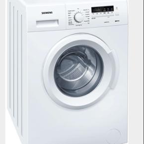 Siemens vaskemaskine. Model: WM14B262DN  - Roskilde - Siemens vaskemaskine. Model: WM14B262DN - 6 kg, 1400 omdrejninger. Energiklasse A+++. Ca. 6 mdr., fejler ingenting overhovedet, søger kun fordi jeg skal flytte, og der er vaskekælder. Den er kun brugt af 1 person, og har derfor ikke vasket ma - Roskilde