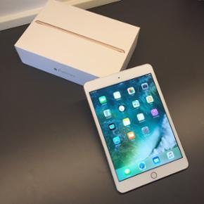 IPad Mini 3 Wi-Fi 4G 16GB (Cellular - SI - København - IPad Mini 3 Wi-Fi 4G 16GB (Cellular - SIM-kort) Den er stort set som ny! Super lækker iPad med Retina skærm. Touch ID i hjemmeknappen. Mulighed for at putte sim-kort i. Der medfølger: Oplader Kasse sidste billede er billigste nypris for ti - København