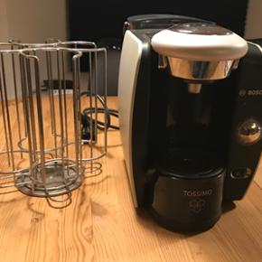Tassimo kaffemaskine til kapsler. Kapsel - Vejle - Tassimo kaffemaskine til kapsler. Kapselstativ medfølger - Vejle