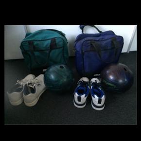 Bowling kugler med taske på 11 og 15 pu - København - Bowling kugler med taske på 11 og 15 pund sko str 39 og 42 250kr pr stk vanløse - København