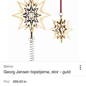GeorgJensen topstjerne i guld, stor. Hel - Esbjerg - GeorgJensen topstjerne i guld, stor. Helt ny. - Esbjerg