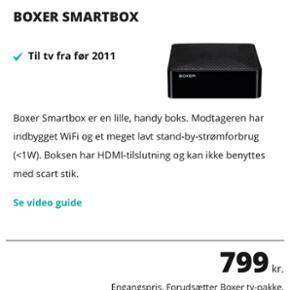 Boxer smartbox Til tv fra før 2011 Ny p - Hjørring - Boxer smartbox Til tv fra før 2011 Ny pris 799 - Hjørring