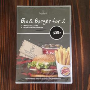 Bio & Burger for 2. Udløber Maj 2017. - Århus - Bio & Burger for 2. Udløber Maj 2017. - Århus
