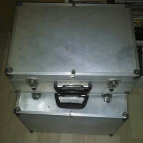 Aluminium Kufferter har 4 stk - Hjørring - Aluminium Kufferter har 4 stk - Hjørring