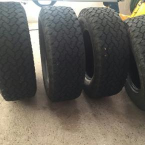 Offroad dæk general grabber ca 40 % mø - Vejle - Offroad dæk general grabber ca 40 % mønster tilbage 265/70-17 4x4 dæk - Vejle