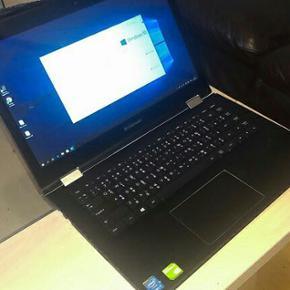 Lenovo yoga 500 core i7 geforce 940m 2gb - Hjørring - Lenovo yoga 500 core i7 geforce 940m 2gb med multi touch..lækker laptop... er ca 1 år gammel, har ikke været brugt de sidste 4 mdr. Da Jeg har fået ny... obs købt i udlandet, derfor der er ekstra tegn på fysiske knapper. :) - Hjørring