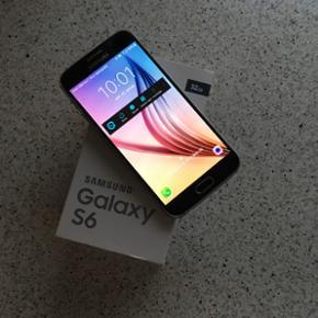 Samsung Galaxy S6 Black Sapphire 32 GB 1 - Horsens - Samsung Galaxy S6 Black Sapphire 32 GB 1,5 år gammel virker perfekt og er i meget god stand kun små brugsridser, oplader medfølger. Sælges til højeste bud