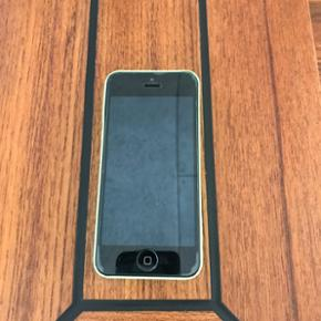 IPhone 5c sælges. Perfekt til børn da  - Esbjerg - IPhone 5c sælges. Perfekt til børn da den har hård plast på bagsiden. Med panserglas. 8GB. MP 800 og ellers højeste bud. - Esbjerg