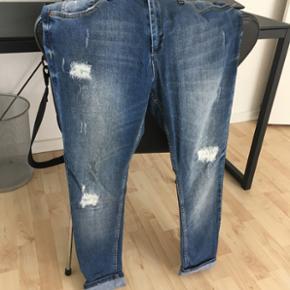 Fiveunits jeans, kun brugt 2 gange. Man  - Slagelse - Fiveunits jeans, kun brugt 2 gange. Man kan vælge om de skal sidde baggy eller oppe. Str.27 - Slagelse