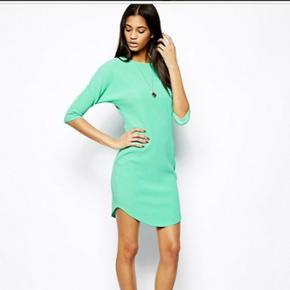 Mintgrøn kjole i str. 36 fra Asos. Kun  - København - Mintgrøn kjole i str. 36 fra Asos. Kun brugt én gang :) - København