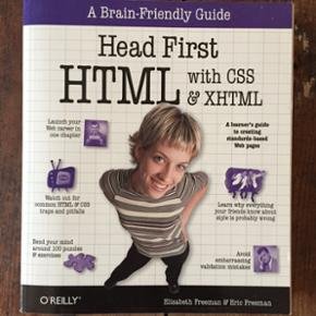 """""""Head First HTML with CSS & XHTML"""" - beg - København - """"Head First HTML with CSS & XHTML"""" - beginners guide to css & HTML. Used but very good condition - København"""