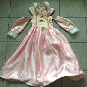 Barbie prinsessekjole med guld detaljer. - Århus - Barbie prinsessekjole med guld detaljer. Str 5-7 år. Gmb. - Århus
