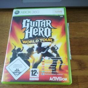 X-box 360 Guitar Hero World tour - Esbjerg - X-box 360 Guitar Hero World tour - Esbjerg