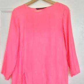 Zara pink silk blouse, barely worn - København - Zara pink silk blouse, barely worn - København