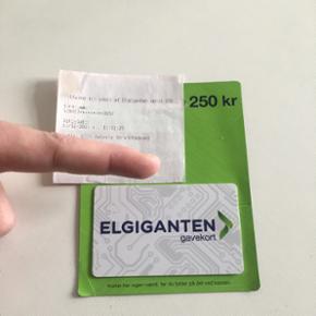 Gavekort til Elgiganten værdi 250kr - Thisted - Gavekort til Elgiganten værdi 250kr - Thisted