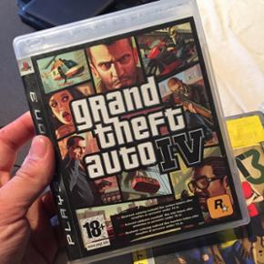 GTA IV til PlayStation 3 (og opefter) 50 - Hillerød - GTA IV til PlayStation 3 (og opefter) 50kr - Hillerød